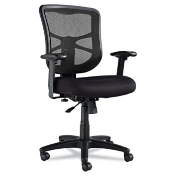 Alera Elusion Series Mesh Mid-Back Swivel/Tilt Ergonomic Office Chair