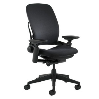 Steelcase Leap fabric ergonomic office chair