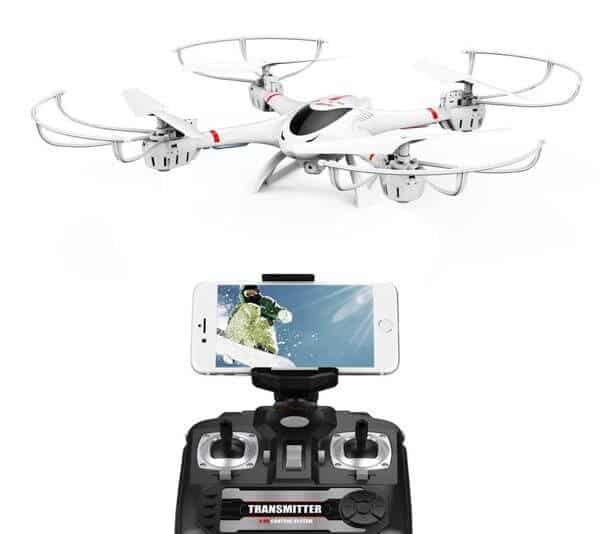 DBPOWER MJX X400W FPV RC Quadcopter with Wifi Camera