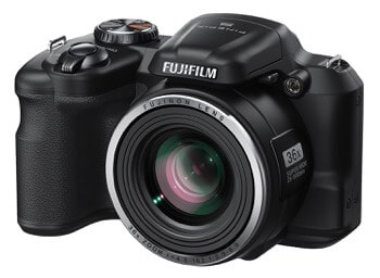 Fujifilm FinePix S8600 16 MP Digital Camera Under $200