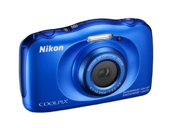 Nikon COOLPIX S33 Waterproof Digital Camera in $100