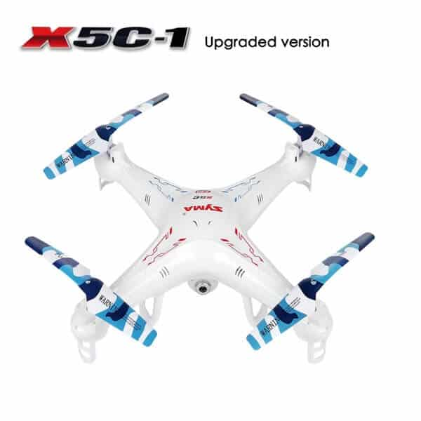 Potensic Upgraded X5C-1 Syma Explorer 2.4GHz 6 Axis Gyro 4CH RC Drone with 2 MP Camera
