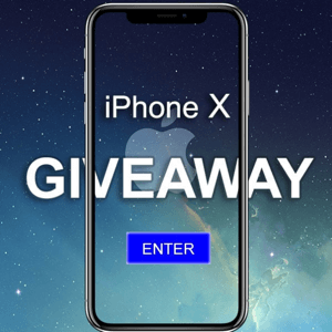 iphone x giveaway offer
