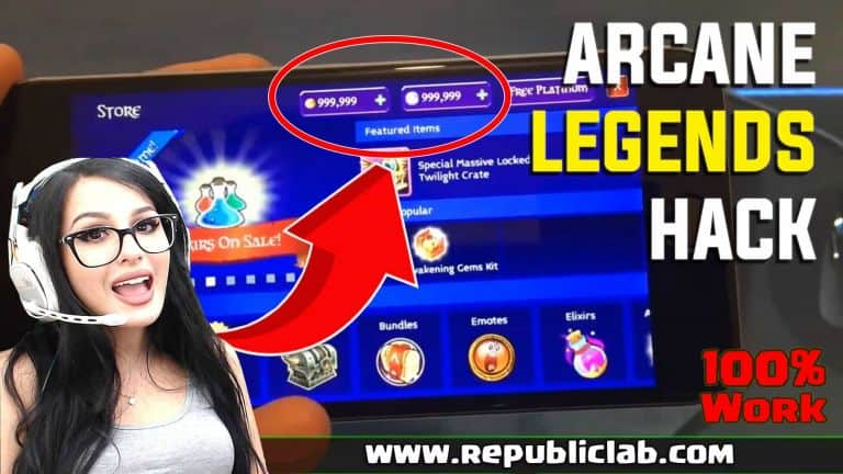 Arcane Legends hack cheats with no human verification