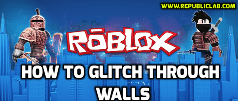 steps to glitch through walls in roblox