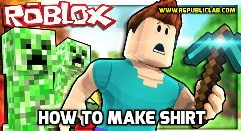 steps to make shirts on roblox