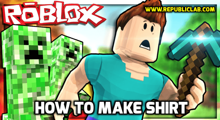 How to make shirts on roblox and sell them