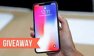 iphone x giveaway banner