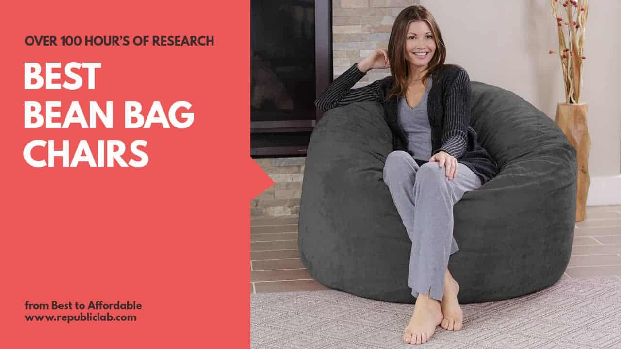 Top 10 Best Bean Bag Chairs Of 2019 With Reviews