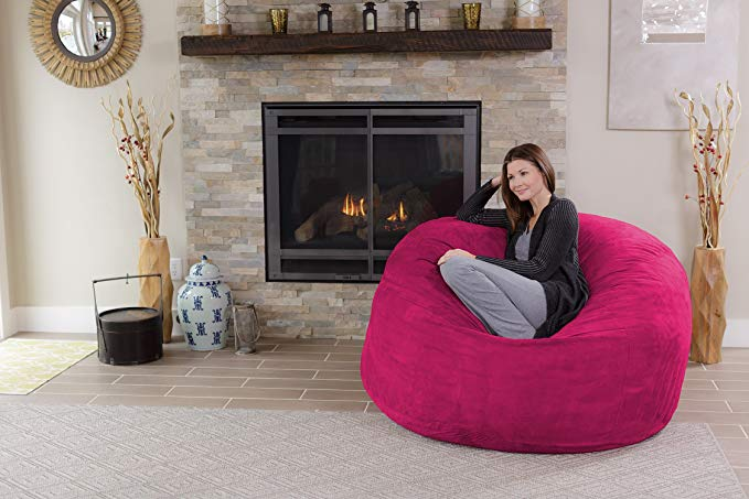 Excellent Top 10 Best Bean Bag Chairs Of 2019 With Reviews Bralicious Painted Fabric Chair Ideas Braliciousco