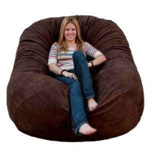Cozy Sack 6-Feet Bean Bag gaming Chair for kids