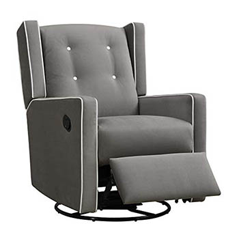 Baby Relax Mikayla Swivel Gliding Recliner - Best Quality