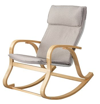 Haotian Relax Rocking Reading chair
