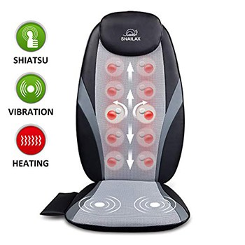 Snailax Shiatsu Massage Cushion for chair