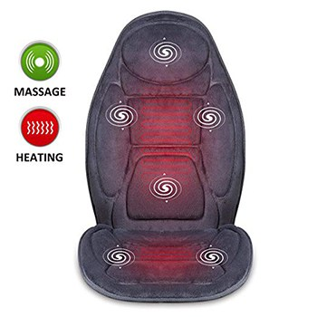 SNAILAX Vibration Massage Seat Cushion