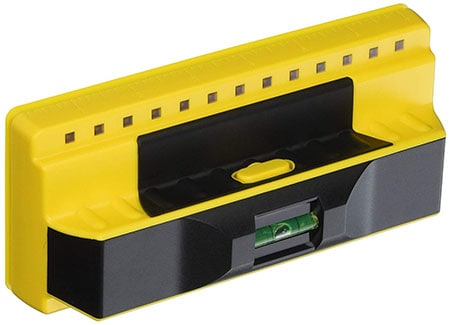 Franklin Professional Stud Finder with Built-in Bubble Level and Ruler