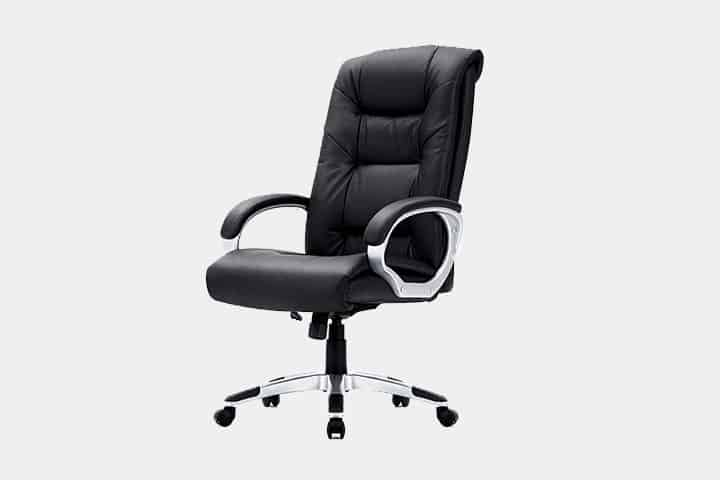 executive chair in black color