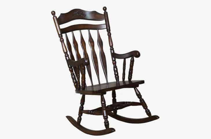 rocking chair made of premium wood