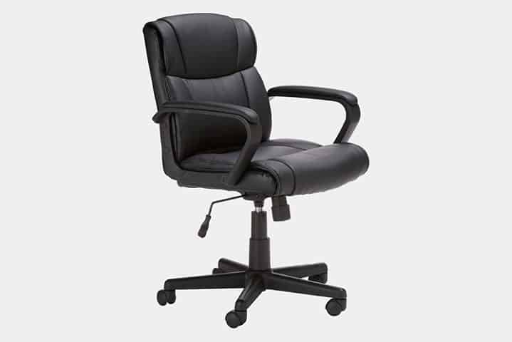 amazon basics short chair