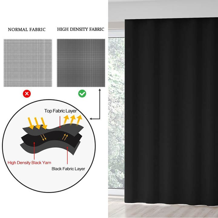 DREAM ART Portable Total Blackout Curtain