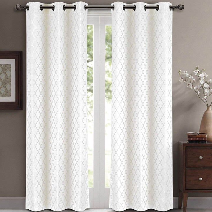 Willow Jacquard curtain